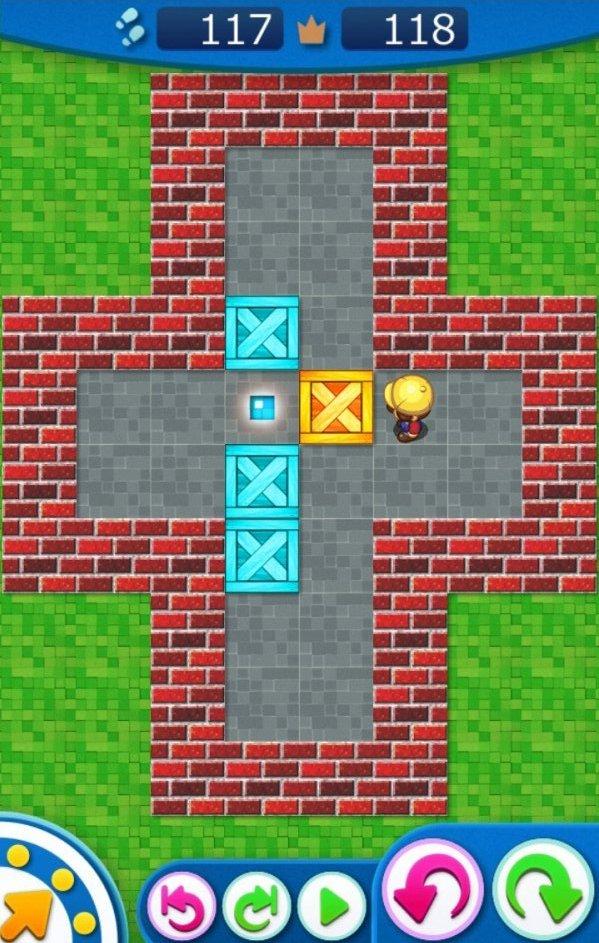 十字ボタン エンド