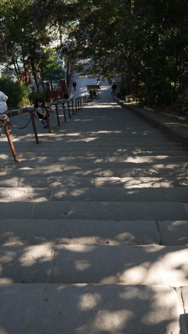 浅間神社下り階段