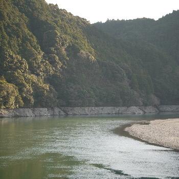 船明ダム湖消失1