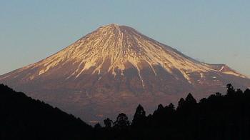 富士山 下旬