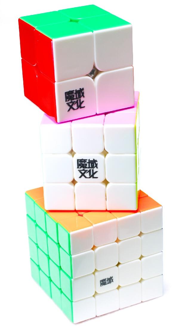 2x2x2-3x3x3-4x4x4キューブ