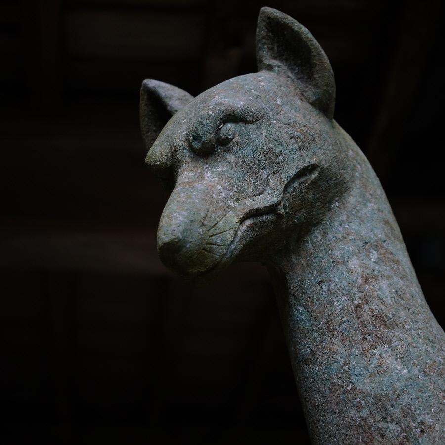 大光寺 狛犬1